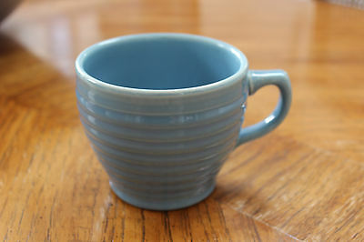 Bauer Vintage RARE Ring Jumbo Coffee Cup Blue
