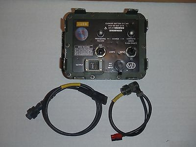 Clansman PRC 320 351 352 14v input Radio Battery Charger *Ships from USA*