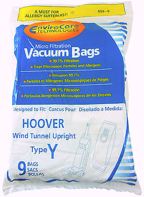 Hoover Vacuum Bags Type Y Replacement 9 Pk Windtunnel Upright Bag
