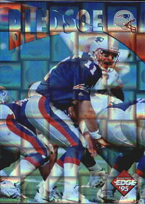 1995 Collector's Edge Instant Replay Prisms #22 Drew Bledsoe