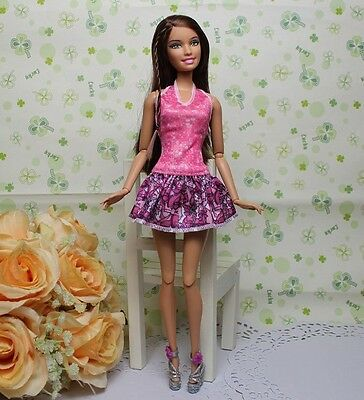 High quality Original wedding gown wears clothes Outfit Barbie Doll Party A6