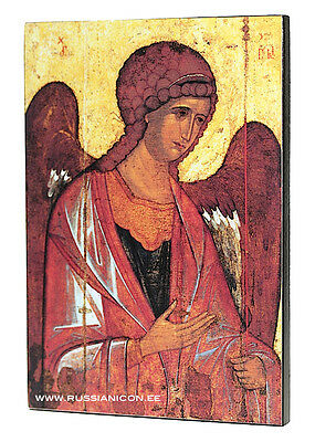 RUSSIAN ORTHODOX ICON - THE ARСHANGEL MICHAEL. Early XIV th century.