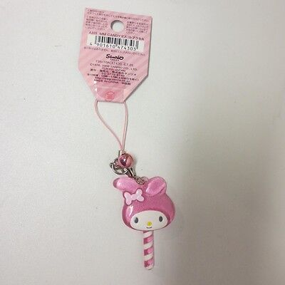 NWT My Melody Sanrio Store Lolipop keychain cell phone charm cute harajuku RARE