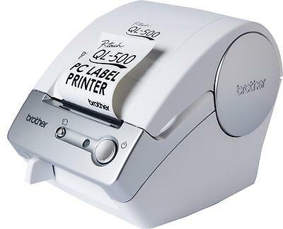 Brother P-Touch QL-500 Label Thermal Printer Address Envelope CD Sticker New Box