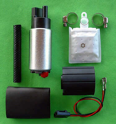 Fuel Pump Electric In-tank 255lph  High Performance Plus Install Kit  HoMa