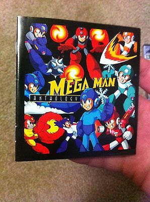 Mega Man 8 Anniversary Collector's Edition PlayStation PS1 Anthology Booklet