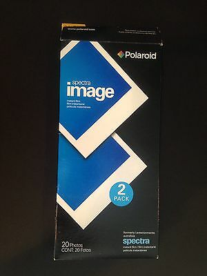 Polaroid Spectra Image Instant Film 2 Pack (20 Color Photos Total) New, Opened