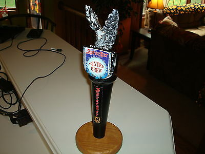 "Ultra Rare Stunning SPRECHER ""Winter Brew"" Beer Tap Handle w/ 3D Gryphon L@@K!!"