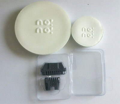 No No Replacement Pkg for 8800 Pro3 Pro5, 1Wide 1Narrow Tip & 1Lg, 1Sm Buffer