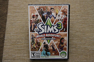 NEW The Sims 3 World Adventures Expansion Pack (WIN/MAC) SEALED