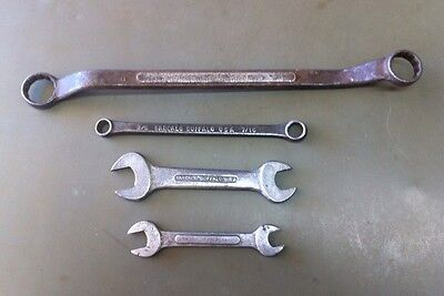 LOT OF 4 VINTAGE BARCALO BUFFALO WRENCHES