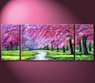 MODERN ABSTRACT WALL ART OIL PAINTING ON CANVAS(no frame)