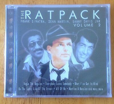 Frank Sinatra,Dean Martin,Sammy Davis Jr,The Rat Pack CD Vol 2 Album, 2000