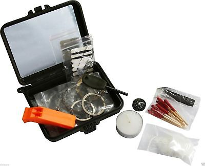 Viper Tactical Survival Kit in Hard Shell Case Emergency Bushcraft Camping New