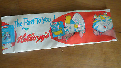 Vintage KELLOGG'S CEREAL Hat Cap Snap Crackle Pop & Tony the Tiger by LIN-N-LOOK