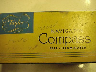 1930s-1940s-1950s ACCESSORY TAYLOR NAVIGATOR COMPASS