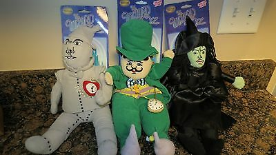SUGAR LOAF The Wizard of Oz new plush MAYOR TIN MAN Wicked Witch 15""