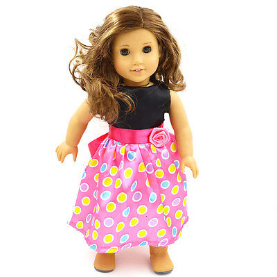 American Girl  Doll Clothes for 18'' American Girl Handmade  Party Dress