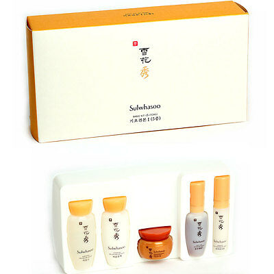 Sulwhasoo Basic Kit 5 Items Amore Pacific Sets Sample Korean Cosmetics Free Gift