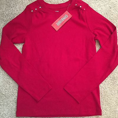 NWT Gymboree Alpine Sweetie Long Sleeve red Top Shirt Size 9