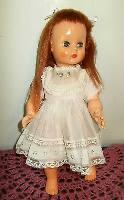 VINTAGE HORSMAN DOLL RUTHIE 15 INCH MARKS ARE T-13 1960,S