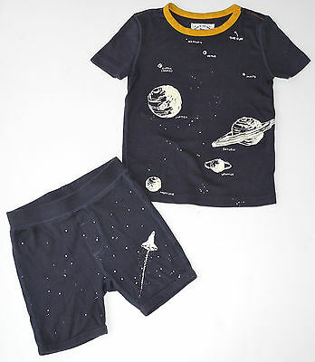 Crewcuts J. Crew Glow in the Dark Boys Outer Space Solar System PJs 5 yrs