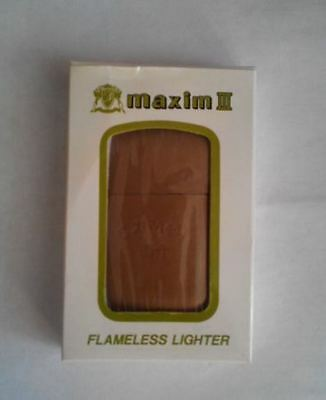 Camel Leather Petrol Lighter.  New Unused Excellent Condition.