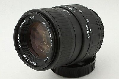 C-216-t**Excellent**SIGMA 70-210mm f/4-5.6 UC-Ⅱ(2) Lens For Nikon From Japan