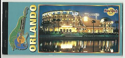 HARD ROCK CAFE LIVE ORLANDO Vintage Book Set of 10 POSTCARD (S) from Opening VG+