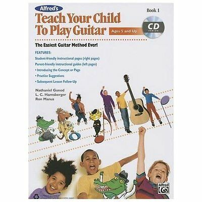 Teach Your Child to Play Guitar, Bk 1 (Book & CD), Gunod, Nathaniel, Harnsberger
