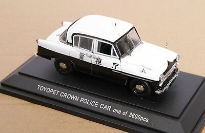 1:43 scale TOYOPET CROWN POLICE CARS DIECAST