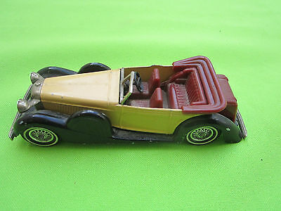 Matchbox Yesteryear 1938 Y11 Lagonda Drophead Coupe MADE ENGLAND MISSING WINDOW