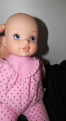 """baby Born Zapf creations love to tumble soft baby doll 12"""" pink heart outfit"""