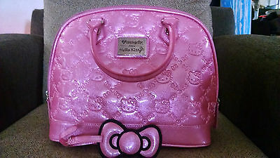 Candy pink Hello Kitty Loungefly purse