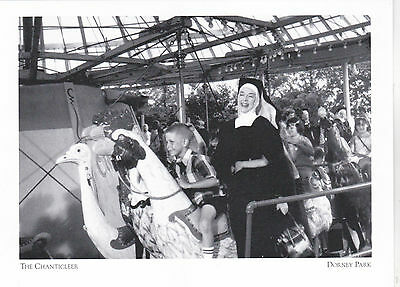 """+PC-""""Actress Rosalind Russell""""(Filming in 1968) *Dorney Park, PA (Postcard-#189)"""