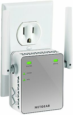 Wireless WiFi Internet Range Extender Booster Router Signal Universal 300 Mbps