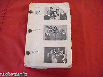 Vintage St. Cloud Kissimmee Florida First Christian Church Family Directory book