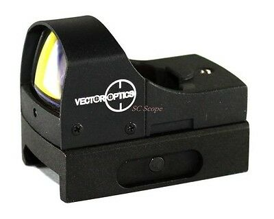 1x22 Red Dot Sight with Picatinny Rail Mount - Vector Optics Sphinx