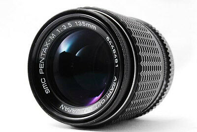 Pentax SMC 135mm f/3.5 Lens/Excellent from Japan