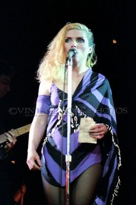 Deborah Harry Blondie Photo 8x12 or 8x10 in '80s Live Concert Pro Fuji Print 17