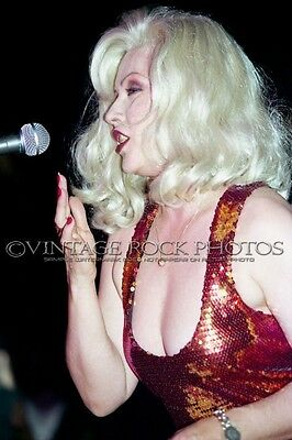 Deborah Harry Blondie Photo 8x12 or 8x10 in '80s Live Concert Pro Fuji Print 28