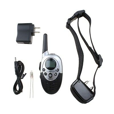 1000 Yard Waterproof LCD Shock Vibra Remote Pet Dog Training Collar Rechargeable