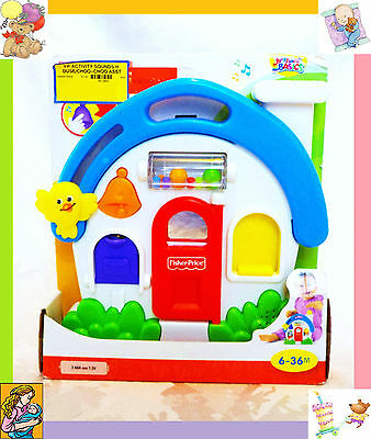 Fisher Price Baby & Children Brilliant Basic Activity Sounds Music House Toy