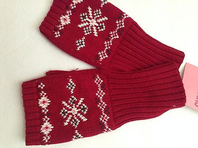 NWT Gymboree Alpine Sweetie Winter Gloves size 8 and up.