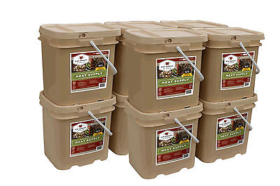 600 Serving Wise Freeze Dried Meat emergency long term food survival 15 yr life