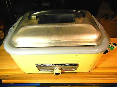 Vintage Retro Westinghouse Roaster Oven with Double Roaster Rack - Working
