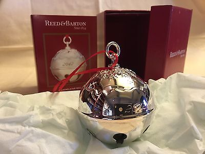 Reed & Barton Silverplate Sleigh Bell - 2012 37th Edition