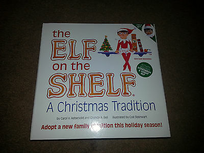 Brand New! The Elf on The Shelf w/Book FREE SHIPPING