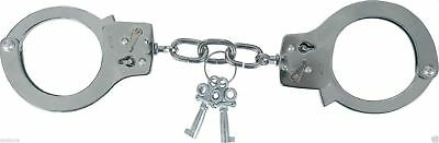 Viper Tactical Heavy Duty Steel Standard Handcuffs Security 2 Key