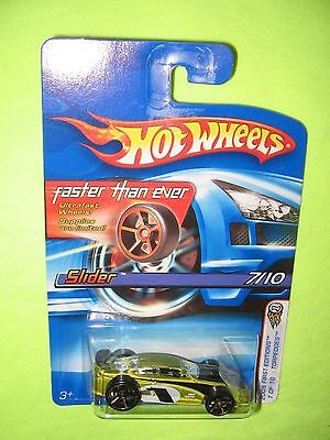 2005 Hot Wheels FTE SLIDER 1st Editions Torpedoes !  ** WOW *